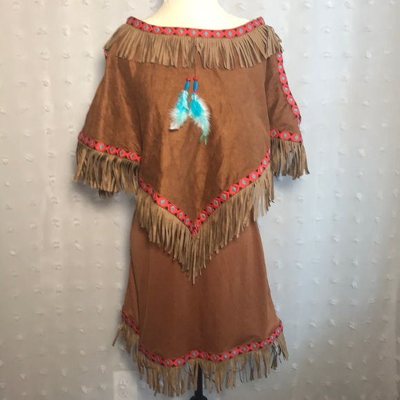 M_5b781964f41452980375b57f & Other | Womens Native American Halloween Costume Size S | Poshmark